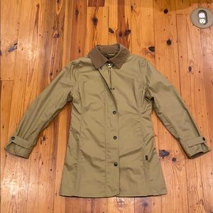 Women's Barbour Jacket - Size 6 - beige color